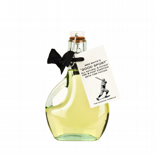Mrs White's - Good Sport - Luxurious Organic After Exercise Bath Elixir 200ml